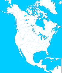 River Map Of North America World Maps Collection