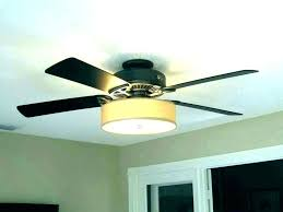 drum lamp shade ceiling fan light kit style modern with chandelier hunter fans lights white decorating
