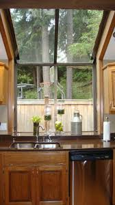 Kitchen Bay Window Decorating Ideas Chic 4 Best Of Treatment For Wi 1405.