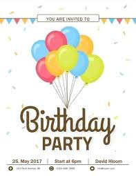 How To Make A Party Invitation Using Microsoft Word