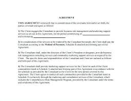 Management Consulting Agreement. 8+ Consulting Sample Agreement ...
