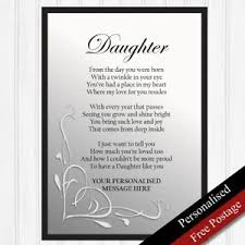 image is loading daughter gift personalised birthday gift for daughter keepsake