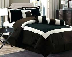 brown duvet cover queen new chocolate brown black bedding comforter set queen king in sets size brown duvet cover