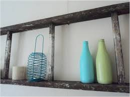 i love how the worn ladder exudes a beachy feel especially when paired with the aqua and lime accessories and those accessories are an eclectic bunch we