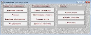 АИС Управление заказами АРМ менеджера по работе с клиентами  АРМ менеджера по работе с клиентами quot