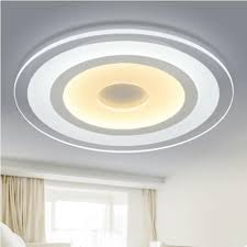 Modern Lights Ultra Thin Ceiling Circular LED Lamp Iron Metal Acrylie  Indoor Lighting Bedroom Living Kitchen LED Light Fixture