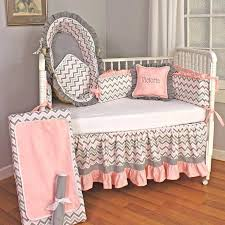 crib bedding sets girl chevron pink crib bedding set a zoom a a baby girl nursery crib bedding