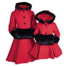 scarlet mink girl s coat