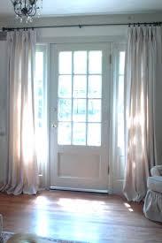 front door window curtainsFront Door Side Glass Window Coverings Half Curtain French Doors