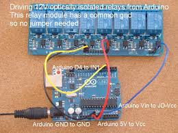 home automation how to add relays to arduino separate multi relay 12v modules high triggered and low triggered