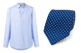 Pattern Shirt With Pattern Tie Custom Decorating