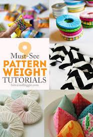 Pattern Weights Best 48 DIY Tutorials For Pattern Weights How Tos Pinterest Pattern