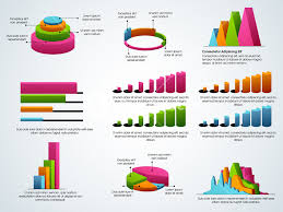 Infographic Chart Creative Colorful Business Infographic Elements Including