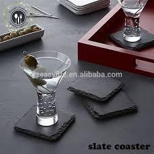custom stone coasters whole stone coasters suppliers alibaba round slate table mats