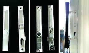 replacing patio door lock sliding hinged patio door replacement