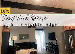 diy 16 faux wood beam fast and