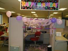 office birthday decorations. an omen of cake to come office birthday decorations a