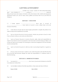 Last Will And Testement Form Last Will And Testament Form24png Questionnaire Template 12
