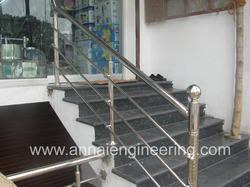 steel stair railing. Steel Stair Railing E