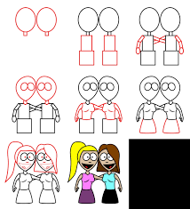 how to draw cartoon characters s
