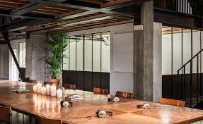 Design-conscious co-working spaces ...