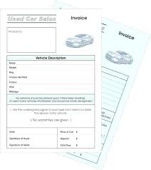 Car Buying Receipt Template Private Sale Download Used Purchase