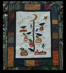 O <b>Pumpkin Tree</b> fall <b>pattern</b> | <b>Halloween</b> quilt <b>patterns</b>, Tree quilt ...