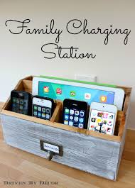 Charging Station Shelf Diy Charging Station The Perfect Spot To Keep All Your