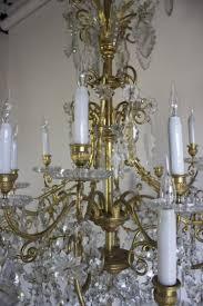 antique baccarat chandelier image 3