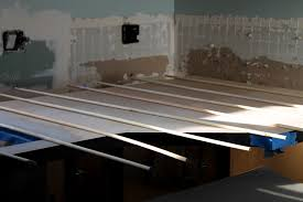 place dowels ever 3 5 inches across the entire surface of your countertop the dowels won t stick to the contact cement and will prevent the laminate from