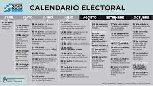 Calendario 2015 Argentina Calendario Electoral Argentina Elections Elecciones Argentinas