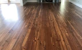 pine floors are part of