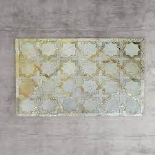 gold star cowhide rug