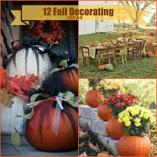 Outdoor Decorating For Fall Fall Decorations For Outside The Home Outside Front Porch Fall