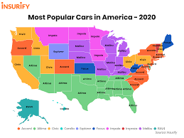 Knowing you have selected a good car insurance company is peace of mind you will want to have before you get in an accident, have your car stolen, or encounter this list contains the top ten best auto insurance companies in the u.s. The Most Popular Cars In America By State Updated 2020 Insurify