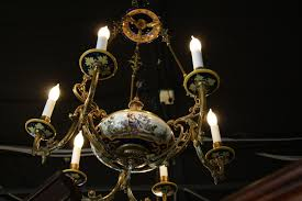 antique italian chandelier for