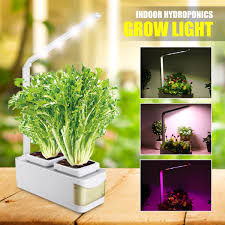 Led Herb Grow Light Smart Herb Garden Kit Led Grow Light Hydroponic Growing