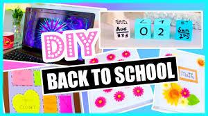 Diy Back To School Diy Organization Binder Decorations More Diy