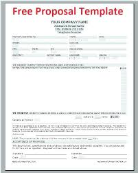 Construction Bid Proposal Template Word Full Size Of Spreadsheet