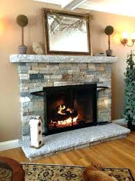 refacing fireplace with stone faux stone fireplace refacing fireplace with faux stone