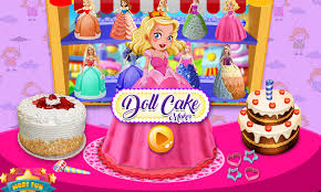 Doll Cake Maker Cooking Games 1mobilecom