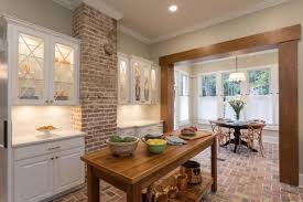 neutral french country kitchen with