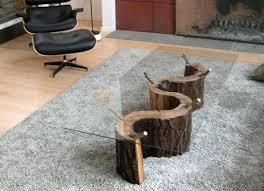 tree stump furniture. Diy Tree Trunk Coffee Table Stump Furniture