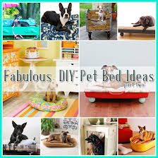 Dog Bed Patterns Cool 48 Fabulous DIY Pet Bed Ideas Part 48 The Cottage Market