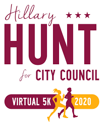 Hillary Hunt for City Council Virtual 5k