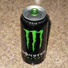 monster energy can green.  Can Monster Energy Drink Inside Can Green E