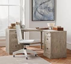 corner desk office. livingston corner desk pottery barn office