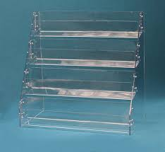 Angled Display Stand Rack Card Display Holder Cosmecol 51