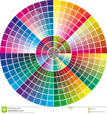 Vector Printing Calibration Chart Stock Vector Image 16661845