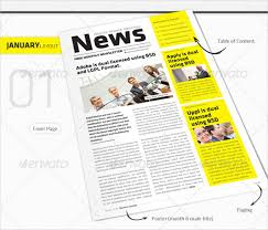 Monthly Newsletter Template – 10+ PSD, PDF Documents Download ...
